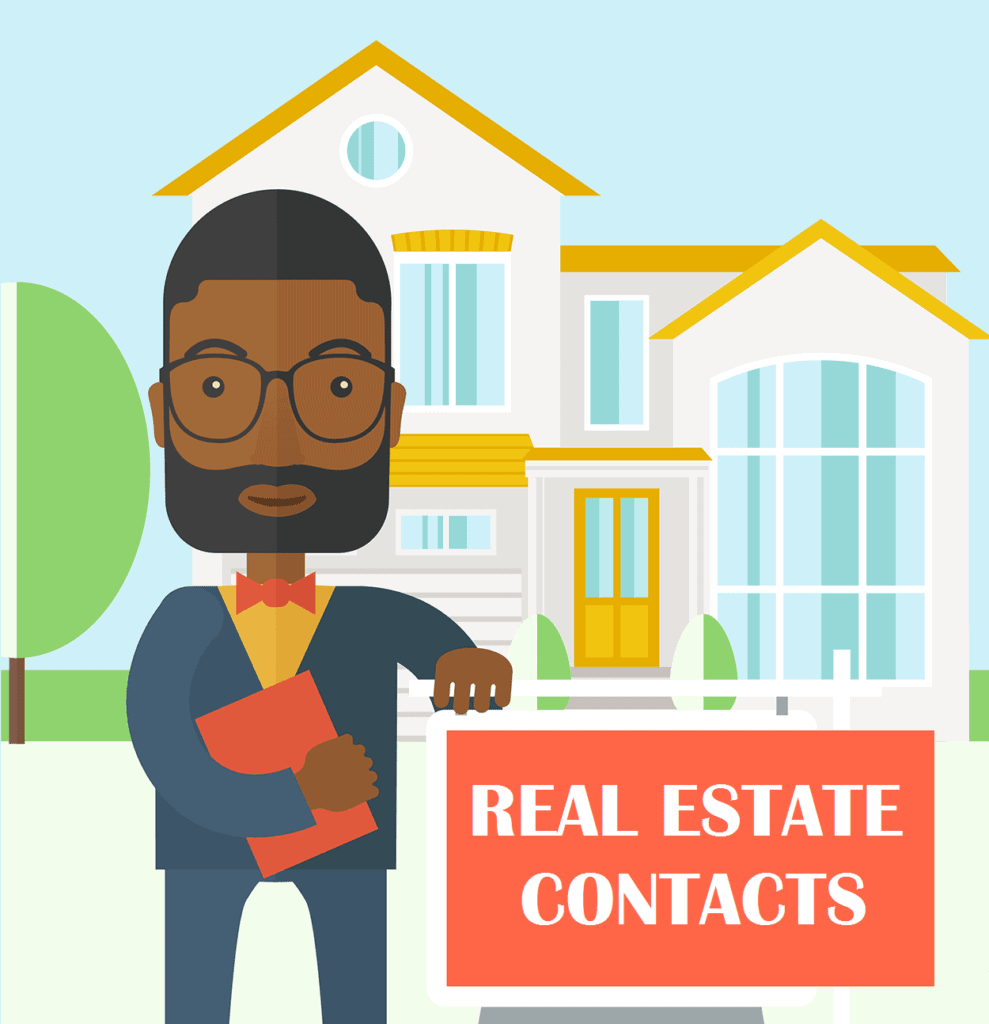 real estate agent email database